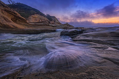 Oregon State Photograph - Cape Kiwanda Twilight by Rick Berk