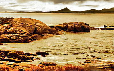 Digital Art - Esperance Bay P by Tim Richards