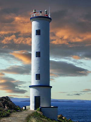 Photograph - Cape Lighthouse Galicia Spain Home by Anthony Dezenzio