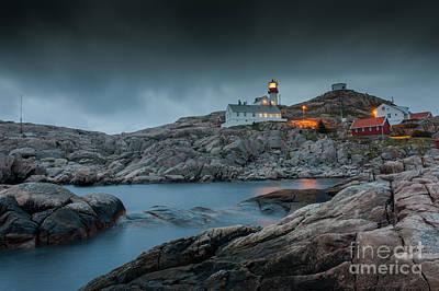 Cape Lindesnes Lighthouse Art Print by Carsten Kopp