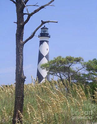 Photograph - Cape Lookout Lighthouse - Barrier Islands  by Scott D Van Osdol