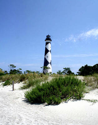 Photograph - Cape Lookout Lighthouse - Harkers Islands - North Carolina by Scott D Van Osdol