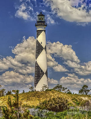 Photograph - Cape Lookout Lighthouse by Nick Zelinsky