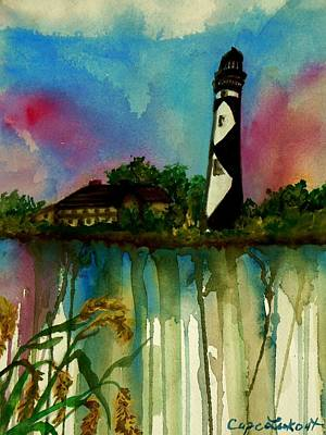Cape Lookout Art Print by Lil Taylor