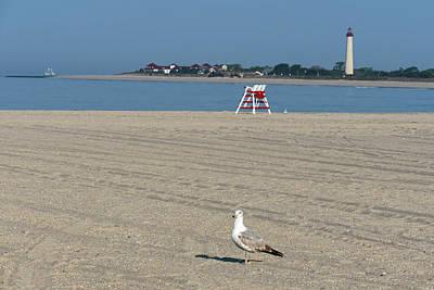 Photograph - Cape May Beach Scene by Bill Jordan