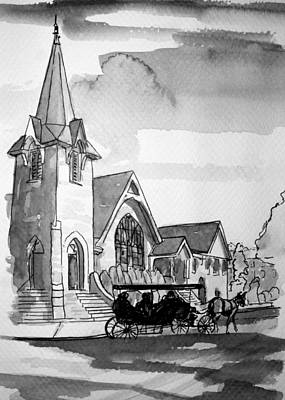 Cape May Carriage Art Print by George Lucas