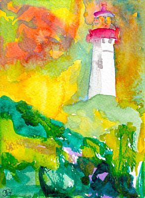 Painting - Cape May by Cindy Glazier
