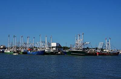 Photograph - Cape May Fishing Fleet by Ed Sweeney