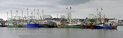 Photograph - Cape May Fishing Trawlers by Dan Myers