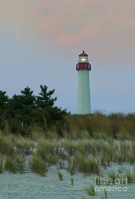 Photograph - Cape May Headlight by Nicki McManus