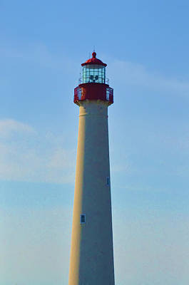 Beach Photograph - Cape May Lighthouse - New Jersey by Bill Cannon