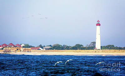 Photograph - Cape May Lighthouse 2008 by John Rizzuto