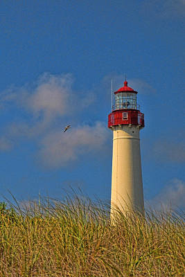 Photograph - Cape May Lighthouse by Allen Beatty
