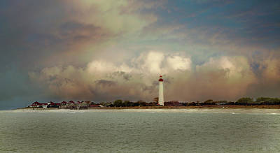 Photograph - Cape May Lighthouse II by John Rivera