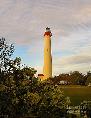 Photograph - Cape May Lighthouse In Spring by Nick Zelinsky