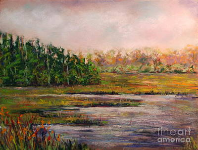Cape May Marsh Art Print by Joyce A Guariglia