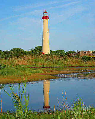 Photograph - Cape May Morning Reflection by Nick Zelinsky