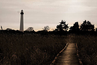 Cape May Nj Lighthouse Print by Kelly Johnson