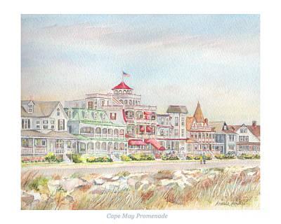 Pineapple - Cape May Promenade, Jersey Shore by Pamela Parsons