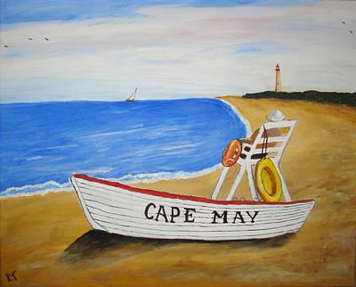 Cape May Art Print