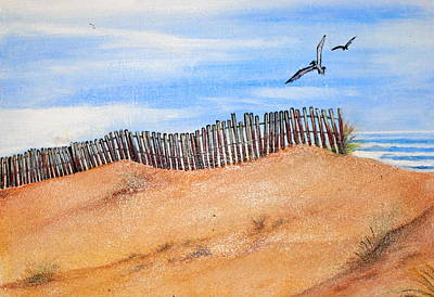 Cape May Sands Original by Jeffrey Engle