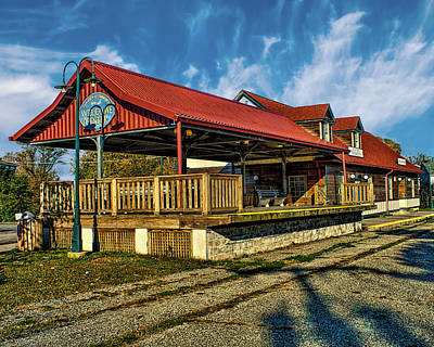 Photograph - Cape May Station by Nick Zelinsky