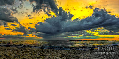 Photograph - Cape May Sunset Panoramic by Nick Zelinsky
