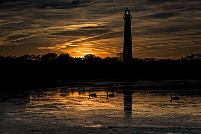 Peace Tower Wall Art - Photograph - Cape May Sunset by Rick Berk