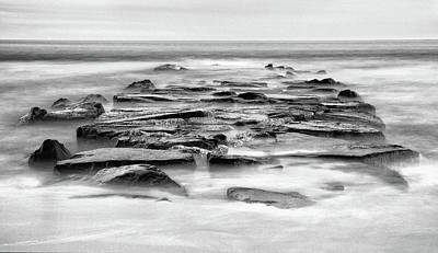Photograph - Cape May Rocks by Art Cole