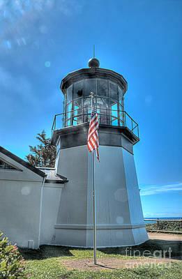Coast Photograph - Cape Meares Lighthouse 2 by Hilton Barlow