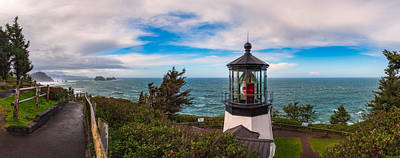 Photograph - Cape Meares Lighthouse by Darren White