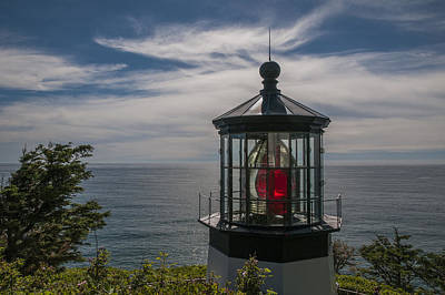 Photograph - Cape Meares Lighthouse by Robert Potts