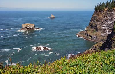 Photograph - Cape Meares Oregon by Loree Johnson