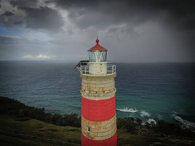Photograph - Cape Moreton Light by Keiran Lusk