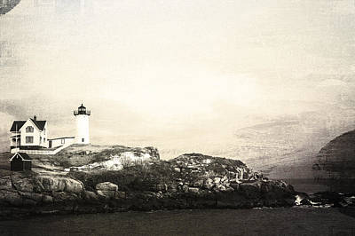 Photograph - Cape Neddick Light House by Sue OConnor