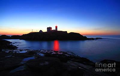 Cape Neddick Light Station Photograph - Cape Neddick Light by Jim Beckwith