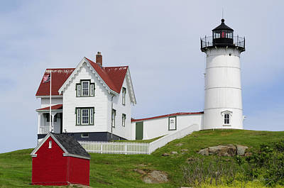 Seashore Photograph - Cape Neddick Light by Luke Moore