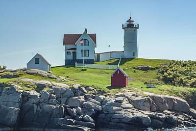 Revolutionary War Art - Cape Neddick Lighthouse by Brian MacLean