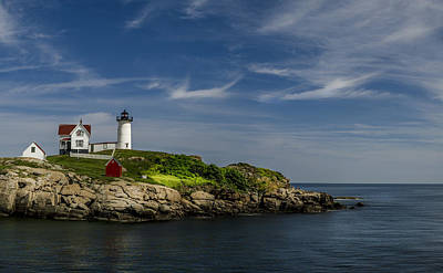 Photograph - Cape Neddick Lighthouse by Rick Mosher