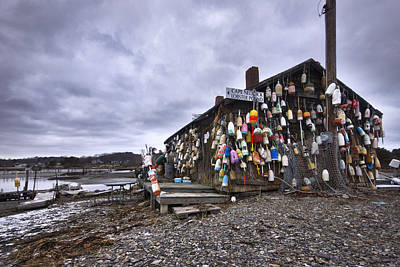 Cape Neddick Lobster Pound Art Print by Eric Gendron