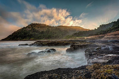 Photograph - Cape Perpetua Sunrise by Pierre Leclerc Photography