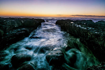 Cape Perpetua Sunset Art Print