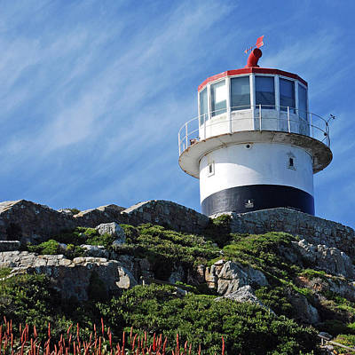 Photograph - Cape Point Lighthouse by Harvey Barrison