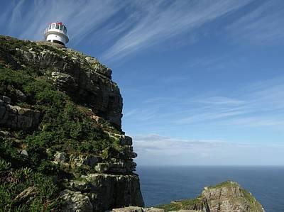 Photograph - Cape Point Lighthouse by Jennifer Wheatley Wolf