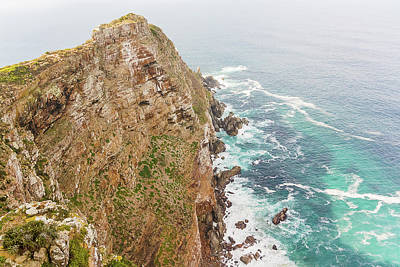 Photograph - Cape Point Near The Cape Of Good Hope South Africa by Marek Poplawski