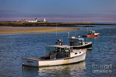 Cape Porpoise Harbor Art Print by Jerry Fornarotto