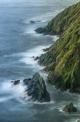 Photograph - Cape Reinga Cliffs by Martin Capek