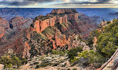 Photograph - Cape Royal Overlook by Adam Jewell