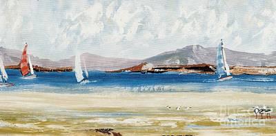 Cape Sailing Art Print