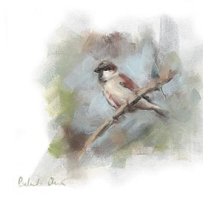 Cape Sparrow Original by Belinda Arde